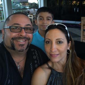 Carlos Munevar and family