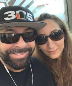 Carlos Munevar and wife