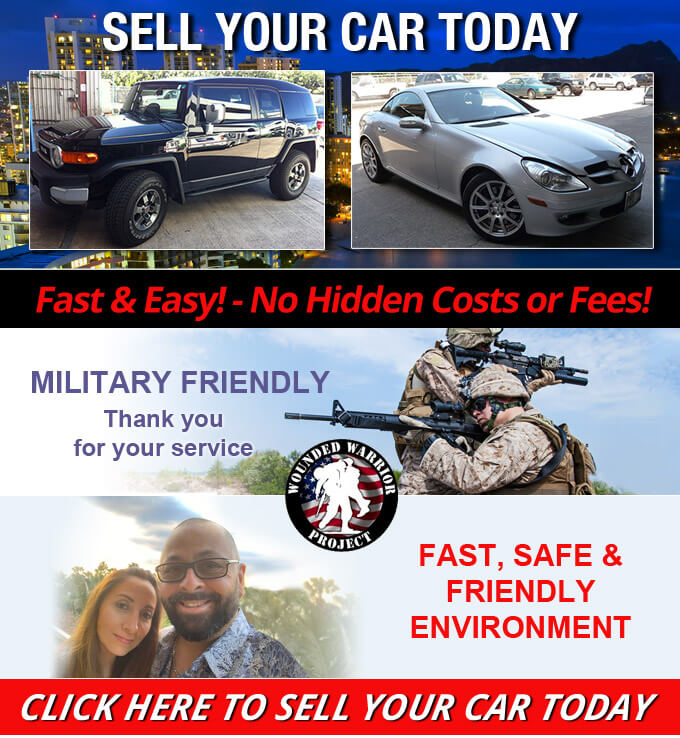 Carmark Hawaii sell your car today